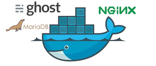 How I run my Ghost blog on Docker, with Nginx and MariaDB